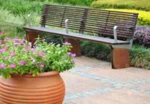 4-Sitzer Gartenbank